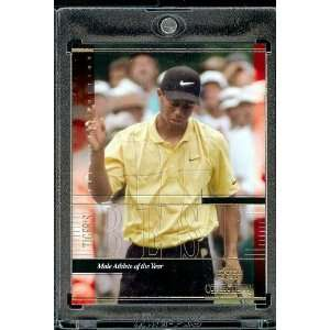 2001 Upper Deck #TWC11 Tiger Woods Golf Card  Mint