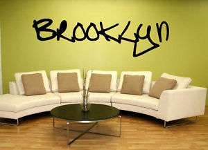 Brooklyn Graffiti NYC New York Wall Vinyl Sticker Decal