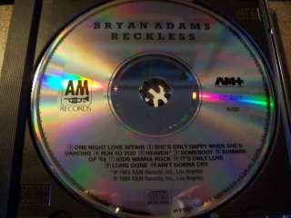 Reckless   Bryan Adams 1985 West German CD NRMT Rare 075021501324