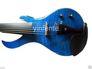 String 4/4 Electric Violin Powerful Sound Solid wood Guitar Shape