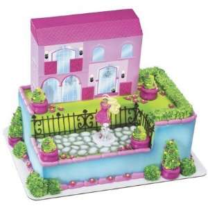 Barbie Dream House Cake Decorating Kit Toys & Games