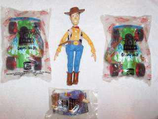 Burger King Toy Story Kids Happy Meal Toys