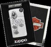 Zippo Harley Davidson Live to Ride   Street Chrome #24008
