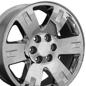 Yukon Style Wheel Fits GMC   Chrome 20x8.5 Automotive