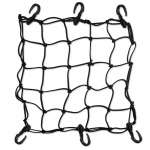 Heavy Duty 15 Cargo Net for Motorcycles, ATVs   Stretches to 30