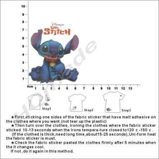 4pcs DISNEY Lilo & Stitch Iron on Patch set in 2 Styles
