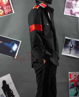 Look@ Michael Jackson CTE Black shirt MJ costumes JACB