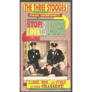 Stop! Look! & Laugh!   The Three Stooges VHS