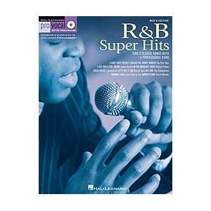 Leonard R&B Super Hits for Male Singers Book & CD Musical Instruments