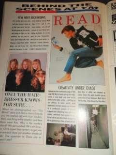Vintage teen magazine YM 4/1987 Michael Jackson, Clayton Rohner