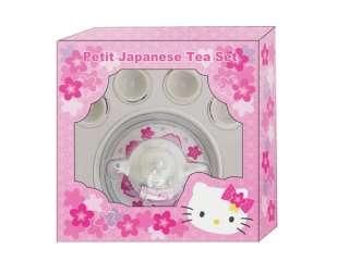 NEW SANRIO HELLO KITTY MINI SMALL SAKURA PETIT JAPANESE TEA SET TOY