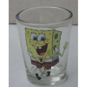 Spongebob Squarepants & Patrick Shot Glass Everything