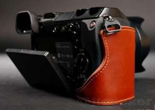 Genuine real COW leather case bag cover for SONY NEX7 NEX 7 Camera