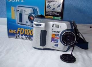 Sony MVCFD100 FD Mavica 1.2MP 3X Optical zoom Digital Camera Battery