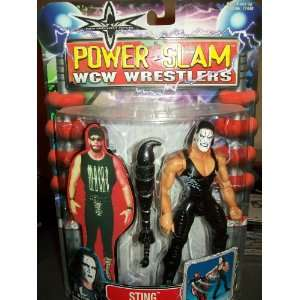 Power Slam Wrestlers Sting distributed by Toy Biz 2000 Toys & Games
