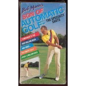 Son of Automatic Golf: Specialty Shots [VHS]: Bob Mann: Movies & TV