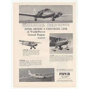 1959 Piper Apache Super Cub Comanche Tri Pacer Photo Print