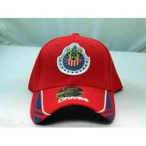 CHIVAS de GUADALAJARA OFFICIAL TEAM LOGO CAP / HAT   CV001