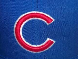 This is a new, unworn vintage adult snapback hat for the Chicago Cubs.