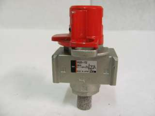 SMC VHS20 F02 Pneumatic/Air Pressure Relief Valve, 1/4 NPT