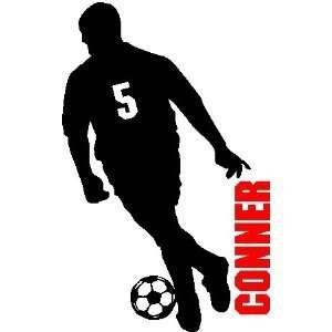 /NUMBER.SOCCER WALL ART DECALS STICKERS GRAPHICS