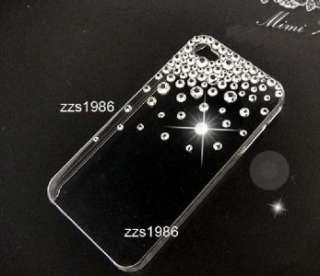 Big Sale Handmade Bling Crystal iPhone 4G 4S Clear Back Case Cover