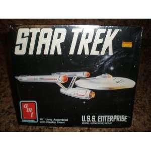 Star Trek U.S.S. Enterprise Model Kit By Amt Ertl BLACK