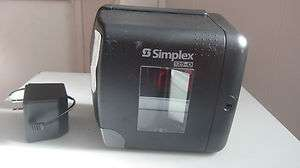 Simplex 125 0 Time Stamp Clock