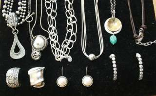 Silpada Jewelry Lot *Authentic* Necklaces, Earrings, Rings, Bracelets