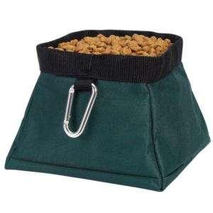 Guardian Gear Travel Bowls Dish w/Clip Hunter Green DOG