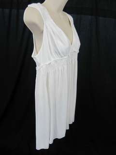 Calvin Klein White Summer Stretch Shirt Top Tank XL