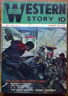 Feb 28, 1942 Street & Smith Western Story Pulp Magazine