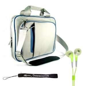 Blue Ultra Slim Edition Portable Protective Shoulder