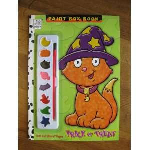 or Treat (Paint Box Book) Coloring Book (Tear and Share Pages) Books