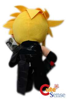 Final Fantasy 7 *CLOUD* 14 Plush Doll Figure RARE USA