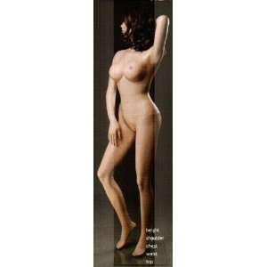 Mannequin New Full Body Full Size Female Fiberglass Mannequin
