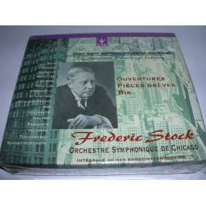 Frederic Stock conducts Overtures. Early North American