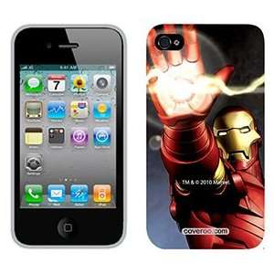 Iron Man Shooting on Verizon iPhone 4 Case by Coveroo