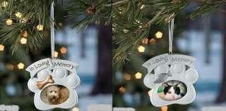 Memorial Pet Ornament Cat or Dog Design, Priced Each