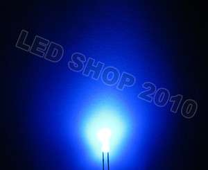 500pcs 3mm Round Diffused Blue LED 5K MCD Bulb Light