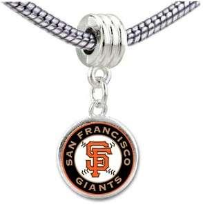 San Francisco Giants Photo European Bead Dangle Charm