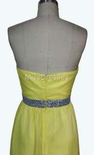 New Sexy Women Elegant Evening Gown Chiffon Dress