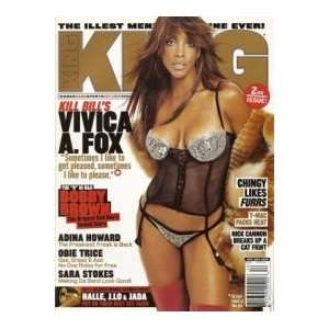 2003 Issue (Vivica A. Fox Cover) (Single Issue): King Magazine: Books