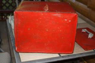 ANTIQUE VINTAGE COKE COCA COLA COOLER ICE BOX