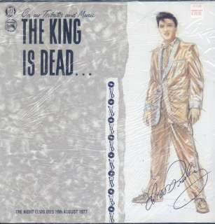 The King Is Dead On Air Tributes LP M SEALED UK Magnum Force