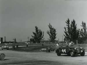 Sebring 12 Hr MG TD plus OSCA 1954 Race Racing Photo