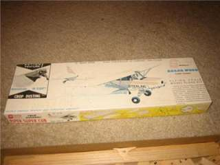 & Sterling Piper Super Cub Crop Dusting Airplane Model Kit NR