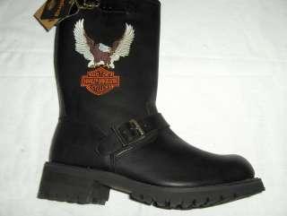 licensed harley davidson boots full grain upper leather oil resistant