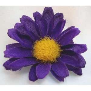 Tiny Purple Daisy Hair Flower Clip Beauty