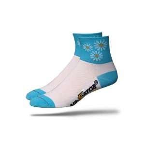 DeFeet Womens AirEator Daisy Dukes Cycling/Running Socks